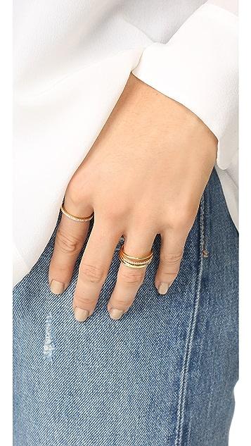 Cloverpost Eternity Ring
