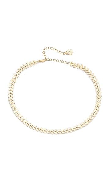 Cloverpost Laurel Choker Necklace