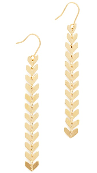 Cloverpost Laurel Earrings - Gold
