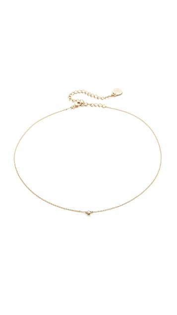 Cloverpost Cue Choker Necklace