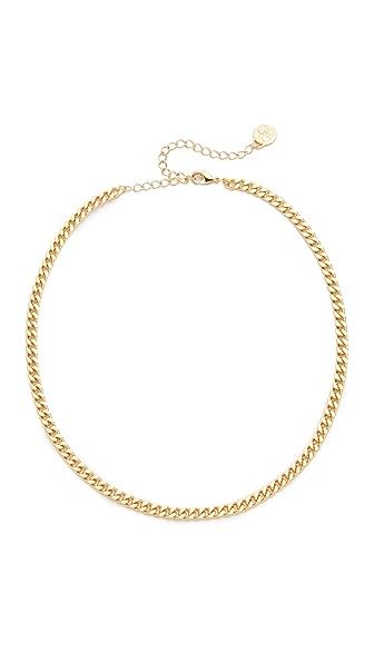 Cloverpost Curb Chain Choker Necklace