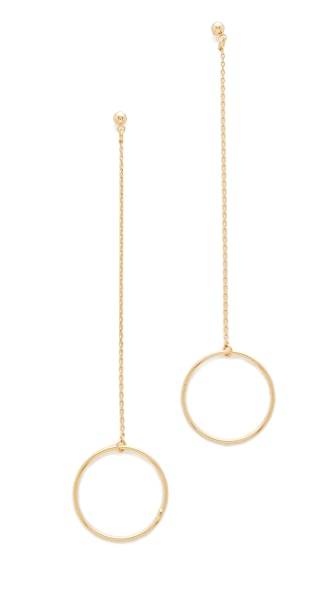 Cloverpost Circle String Earrings