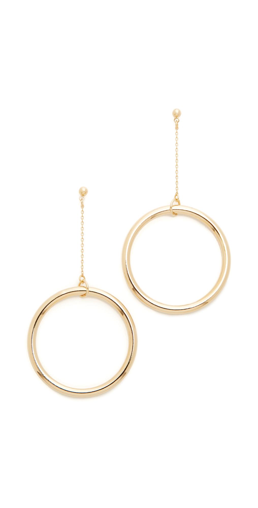 Halo String Earrings Cloverpost