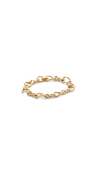 Cloverpost Figure Chain Ring