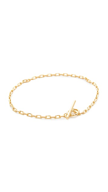 Cloverpost Toggle Lariat Anklet