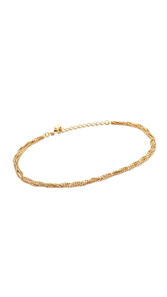 Cloverpost Twist Three Anklet at Shopbop