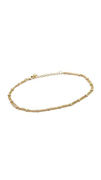 Cloverpost Sprinkle Anklet - Gold