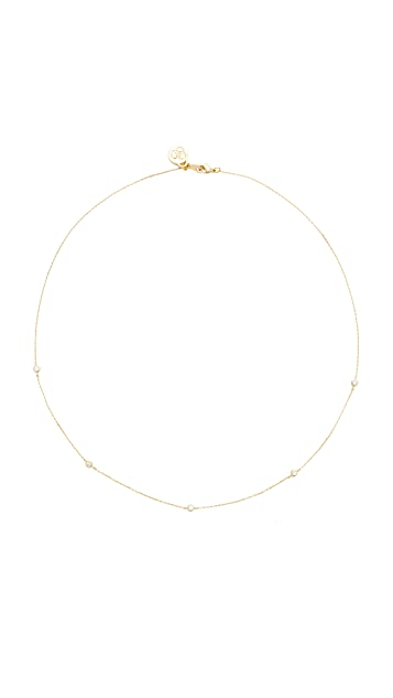 Cloverpost Scroll Necklace
