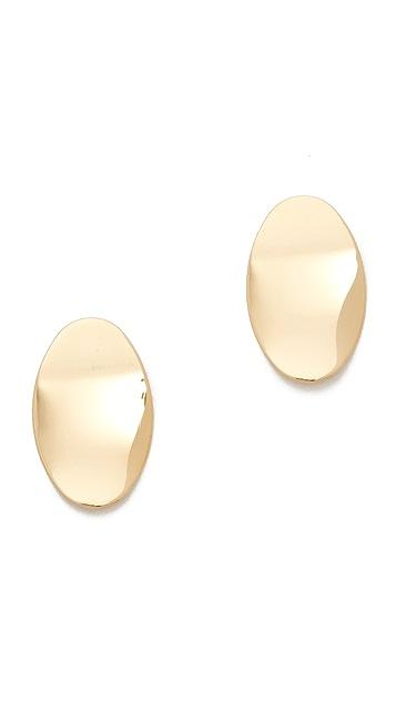 Cloverpost Badge Earrings