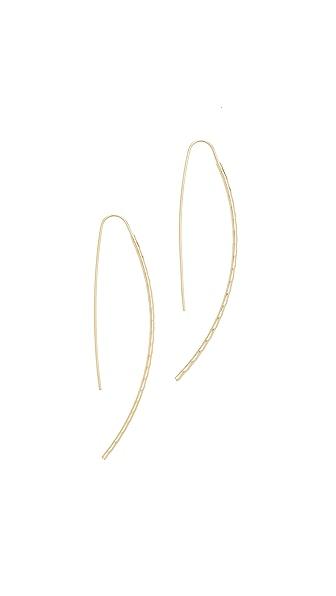 Cloverpost Ticker Earrings - Gold