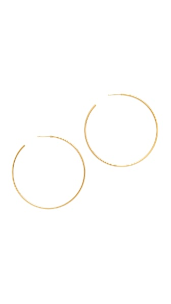 Cloverpost Medium Circuit Hoop Earrings