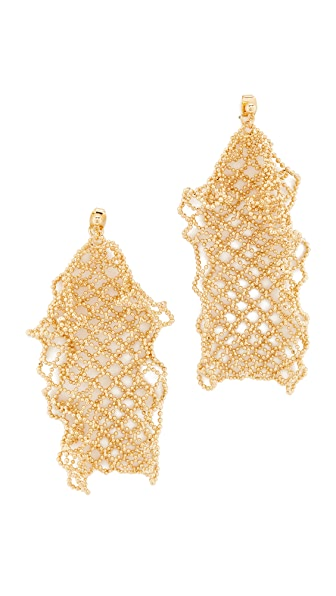 Cloverpost Ruffle Earrings