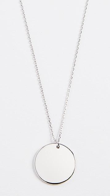 Cloverpost Колье с круглым медальоном