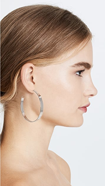 Cloverpost Vest Hoop Earrings