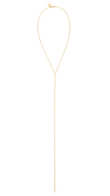 Cloverpost Skip Excess Tight Lariat Necklace