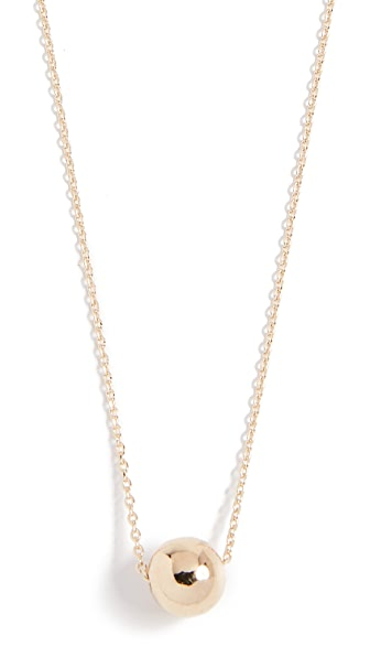 Cloverpost Map Necklace In Yellow Gold