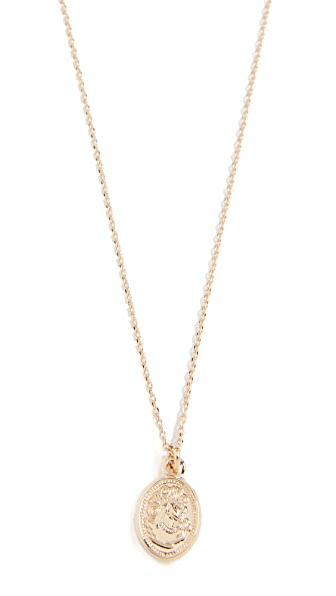 Cloverpost Loft Necklace In Yellow Gold