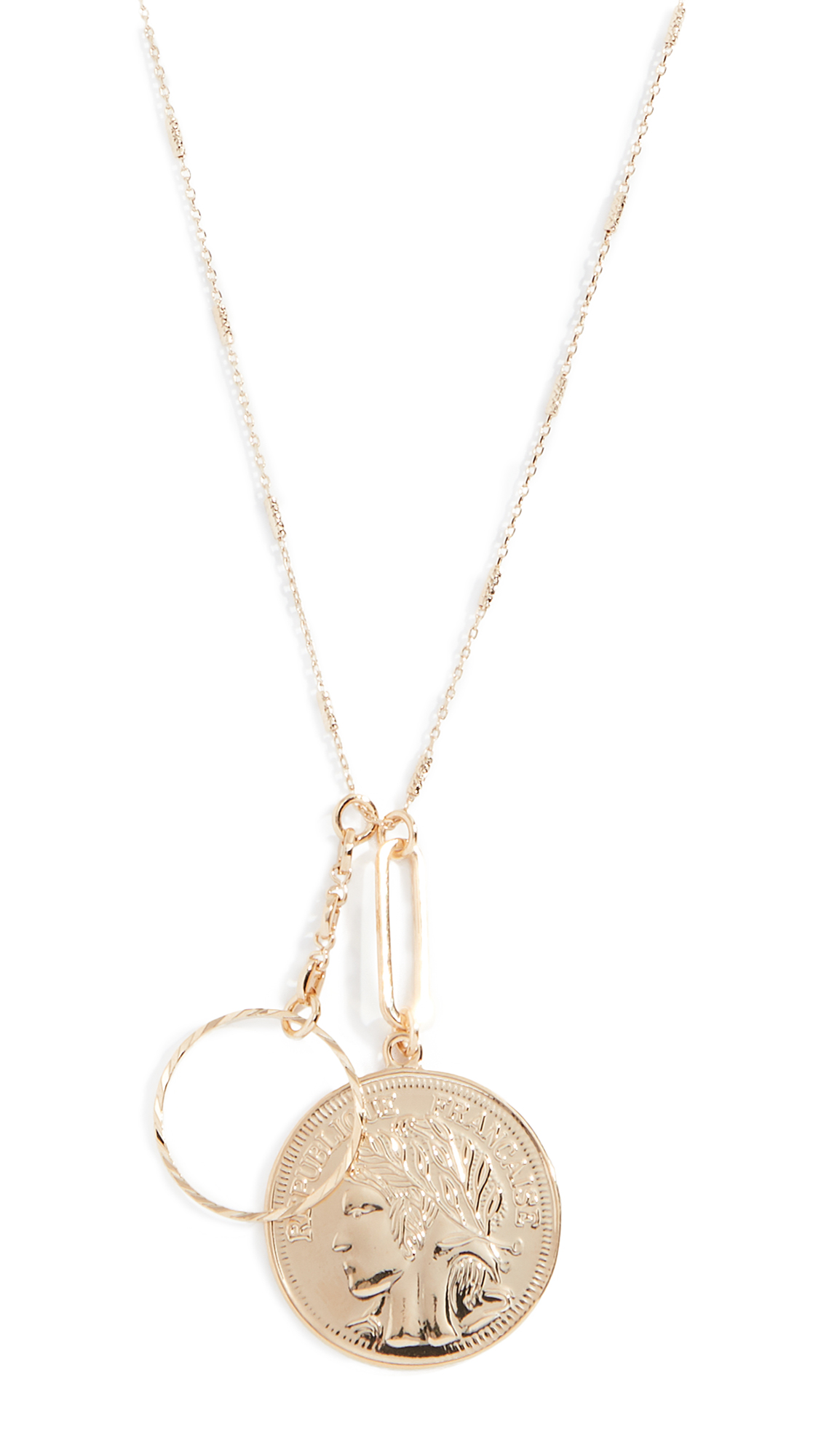 CLOVERPOST BOOST NECKLACE