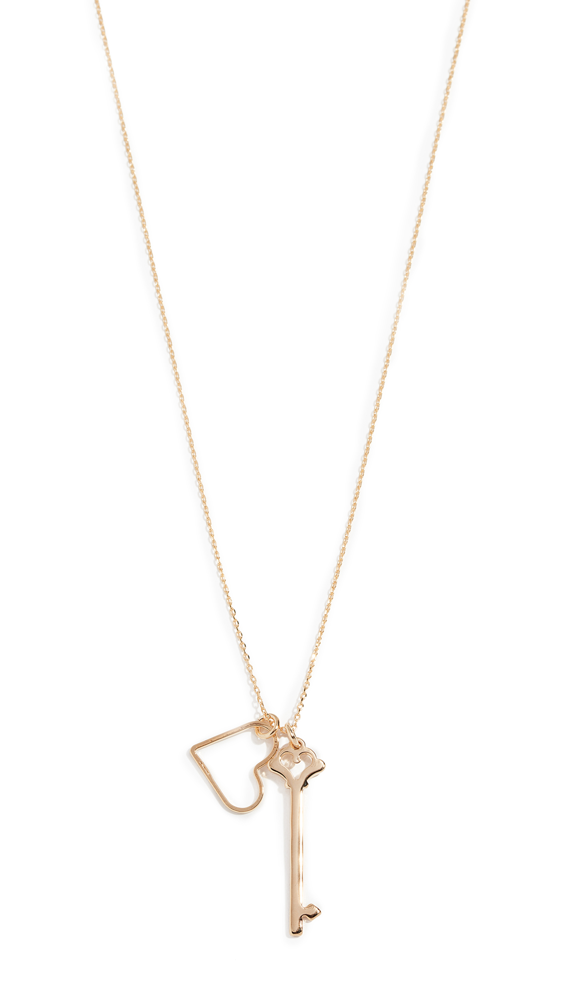 CLOVERPOST Devotion Necklace in Yellow Gold