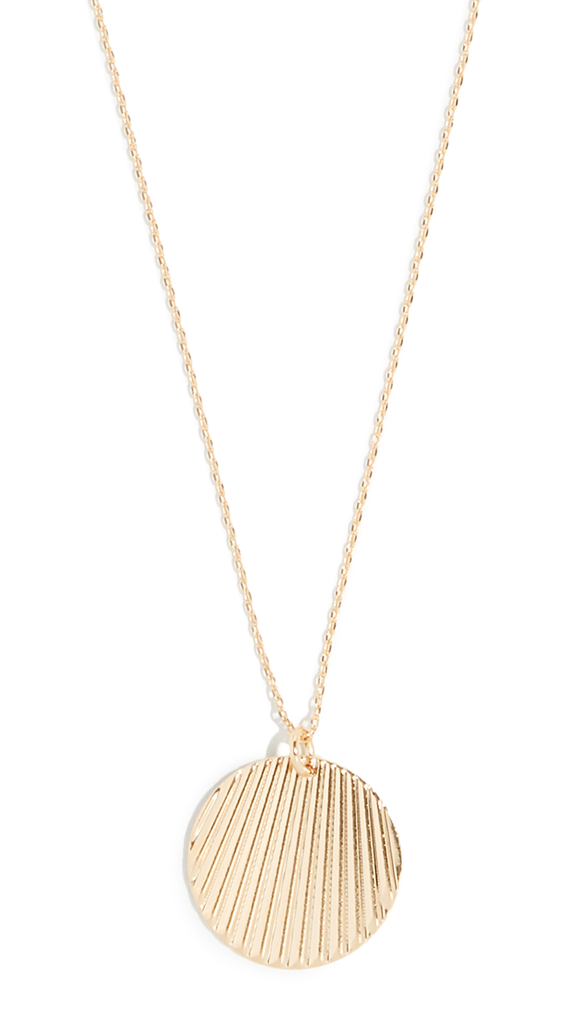 Cloverpost Shed Necklace - Gold