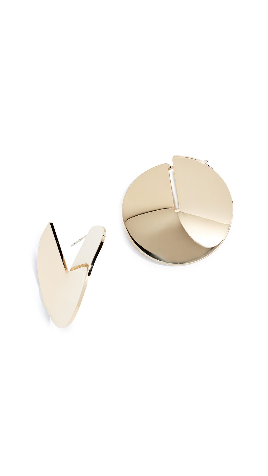 CLOVERPOST Belief Earrings in Gold