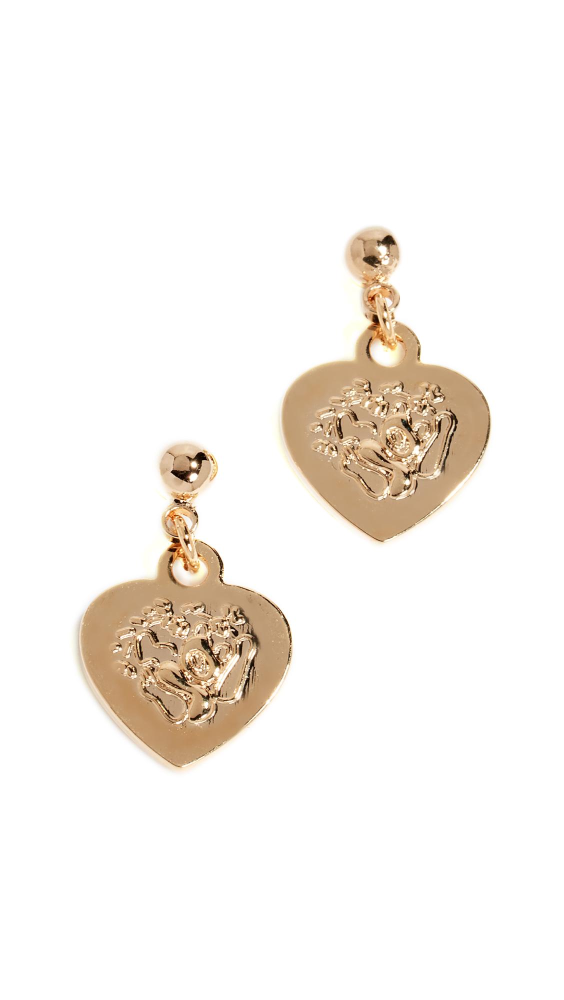 CLOVERPOST Portal Earrings in Gold