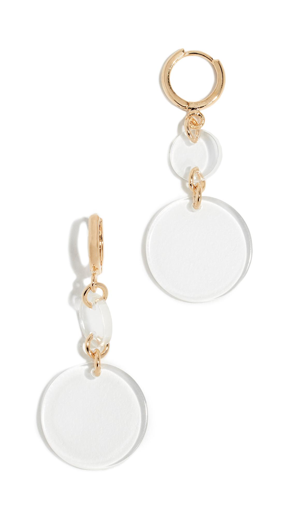 CLOVERPOST Pluck Earrings in Gold