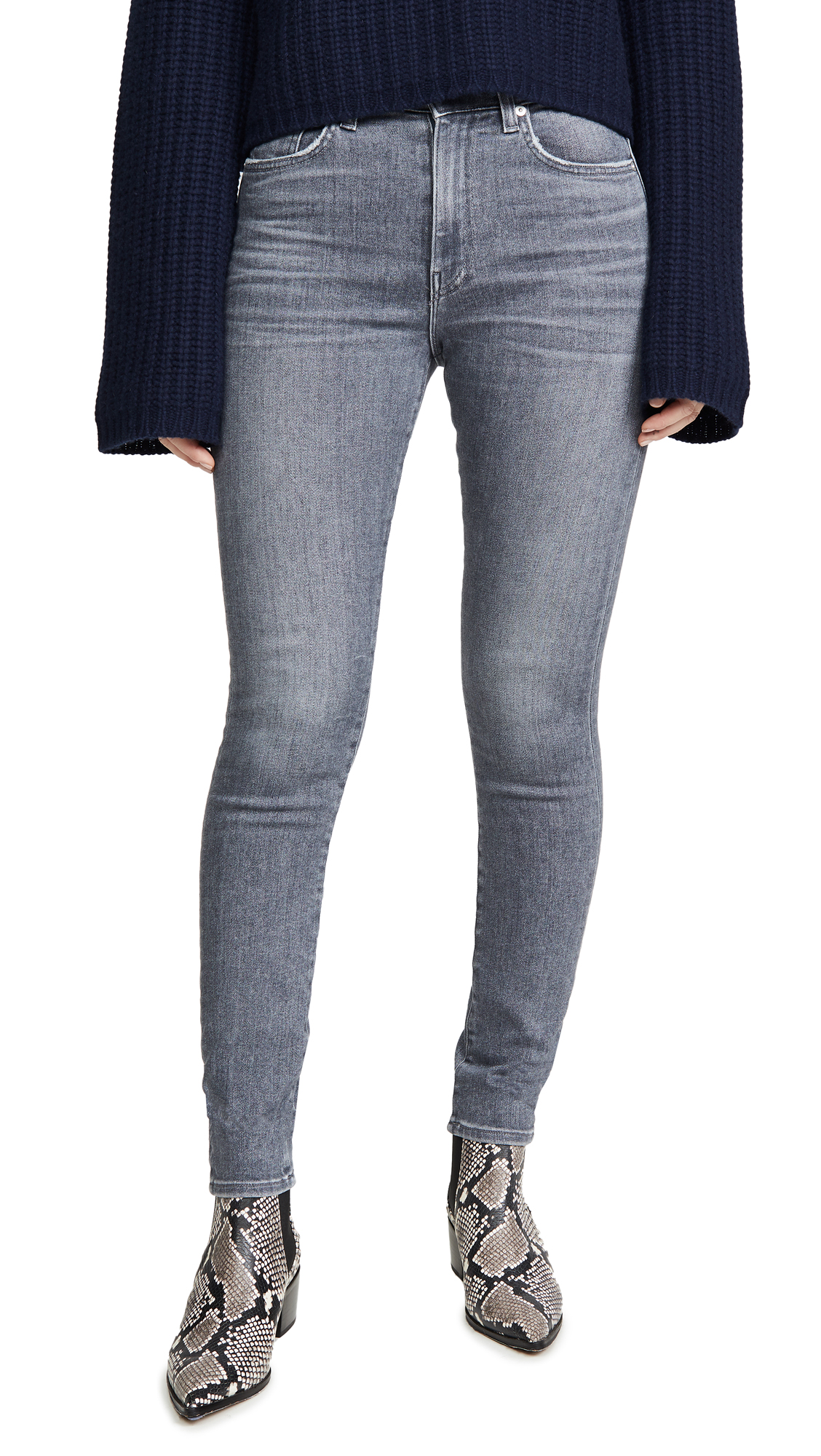 Buy CQY online - photo of CQY Palme High Rise Skinny Jeans