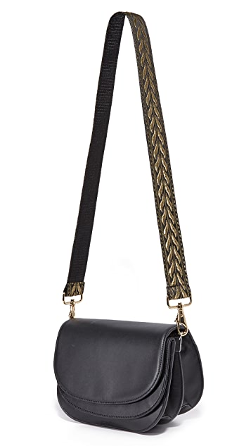 Carrie'd NYC Pearl Slim Guitar Handbag Strap