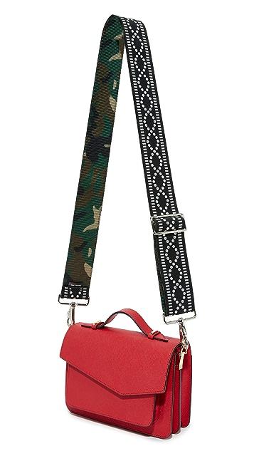 Carrie'd NYC Ryder Reversible Guitar Handbag Strap