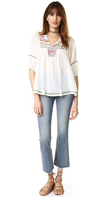 Christophe Sauvat Collection Long Sleeve Semi Sheer Shirt