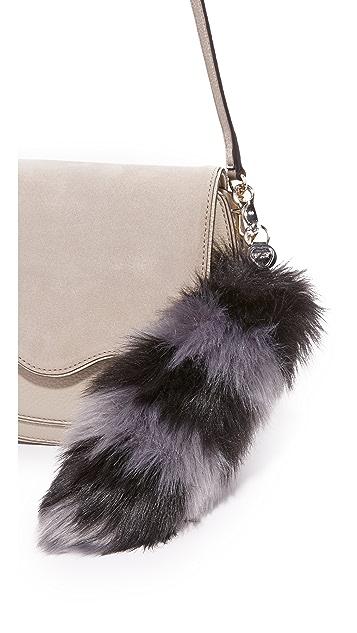 Charlotte Simone Goody Gumdrops Faux Fur Bag Charm
