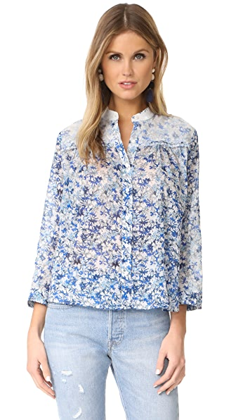Cloth and Steel Franny Blouse - Chicory