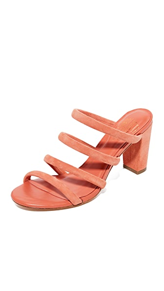 Charlotte Stone Bettina Mules - Terracotta