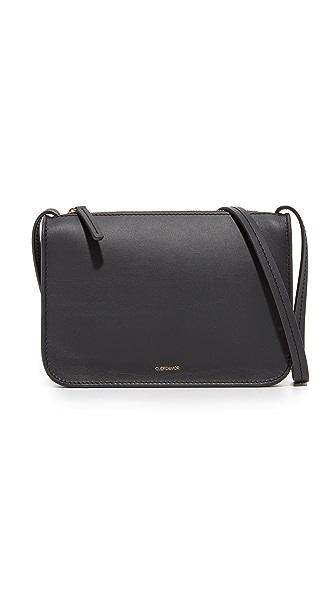 Cuero & Mor Mini Cross Body Bag - Black