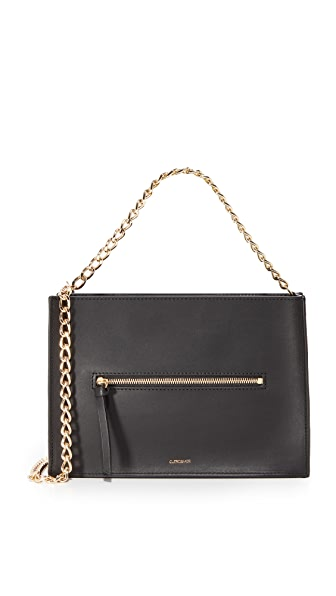 Cuero & Mor Helen Chain Bag - Black