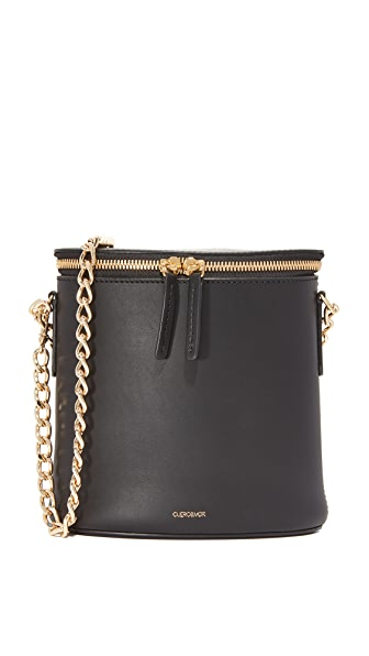 Cuero & Mor Perla Chain Bag - Black
