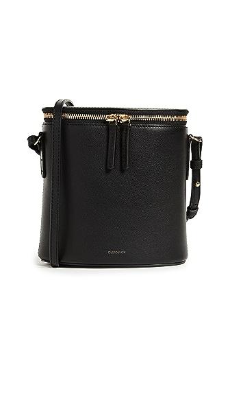 Cuero & Mor Perla Bucket Bag In Black