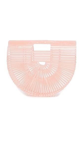 Cult Gaia Acrylic Ark Bag - Pink