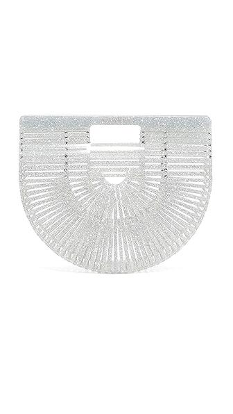 Cult Gaia Acrylic Ark Bag - Glitter