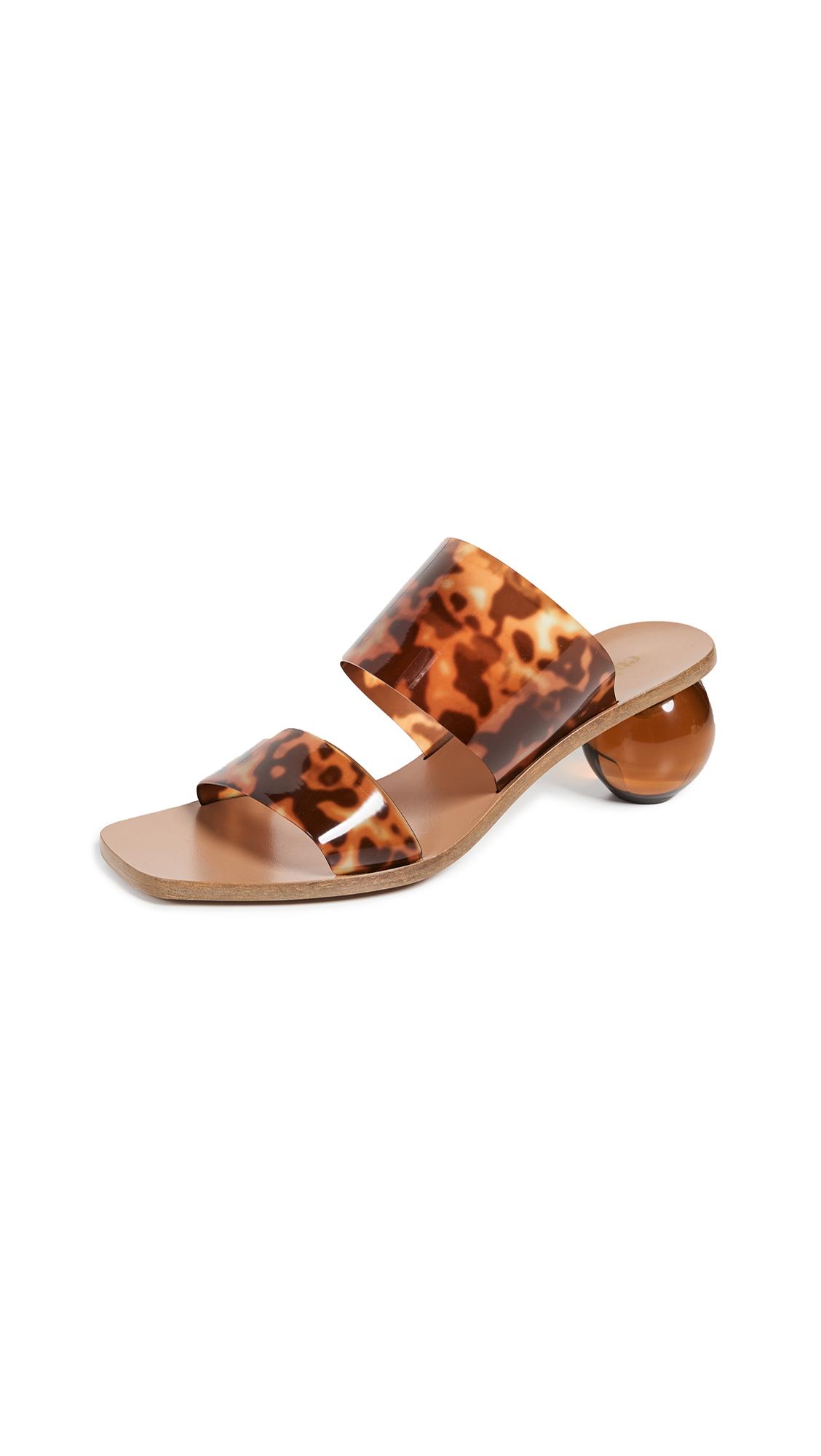 Buy Cult Gaia Jila Heel Slide Sandals online, shop Cult Gaia