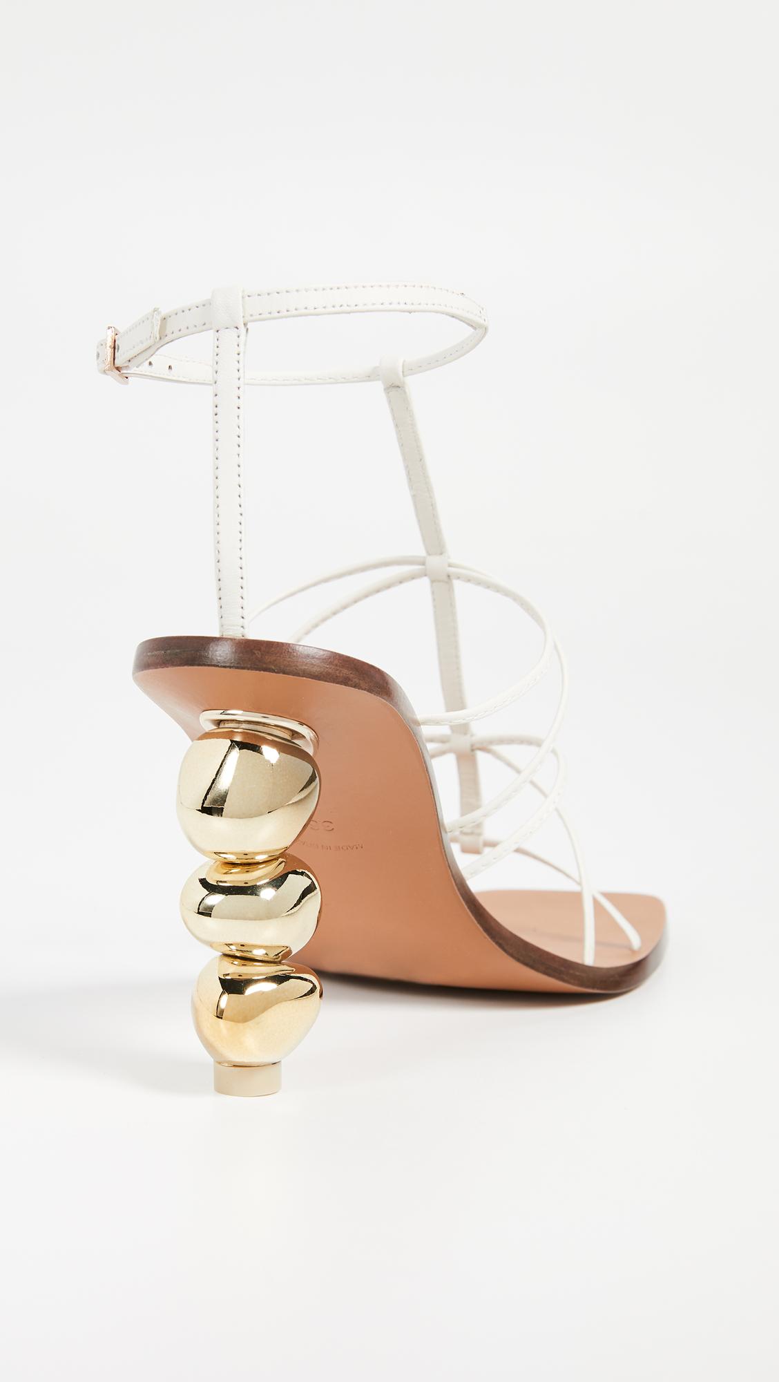 9c3eeede94d Cult Gaia Pietra Heel Sandals