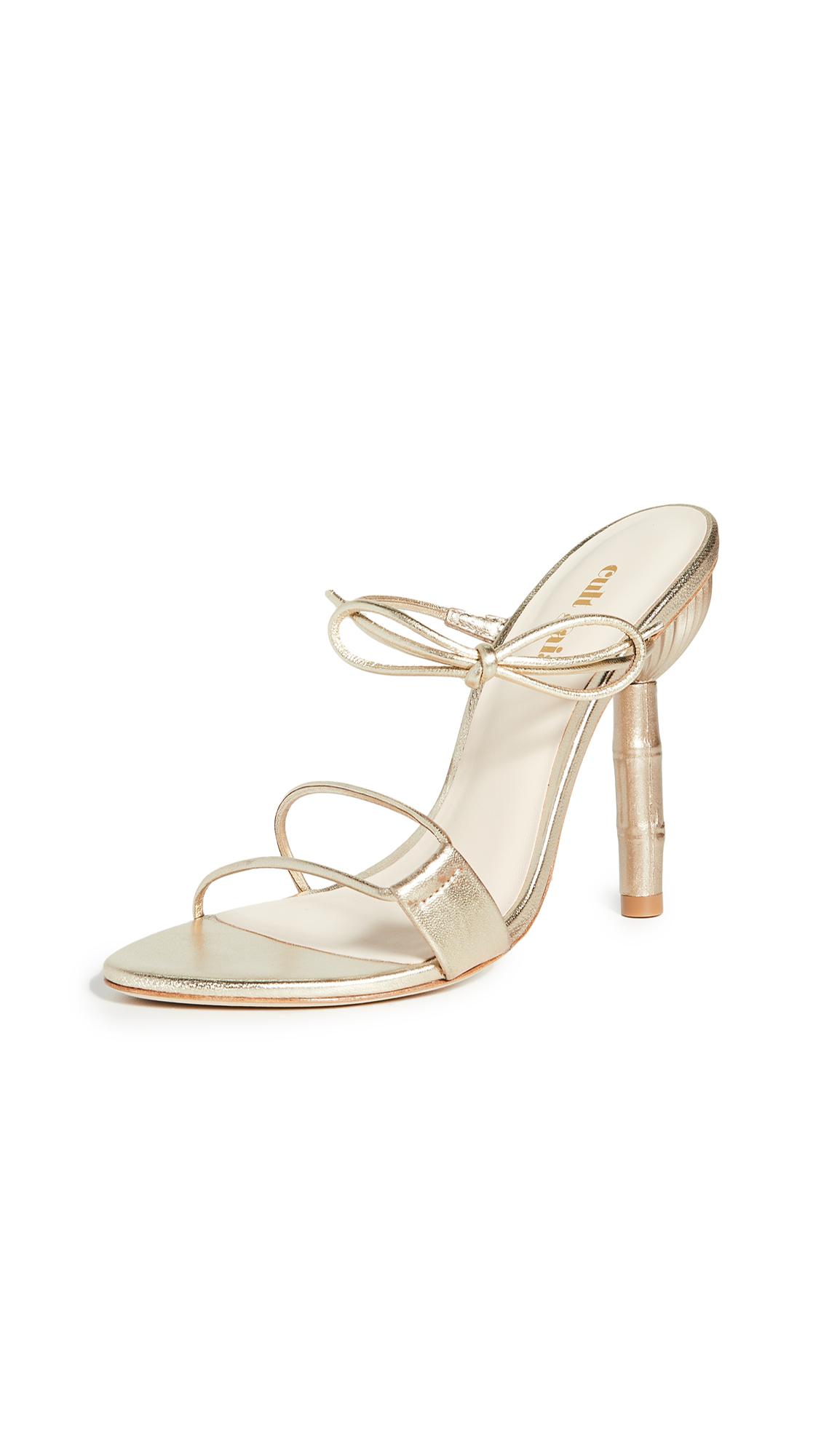 Buy Cult Gaia online - photo of Cult Gaia Malia Heeled Sandals