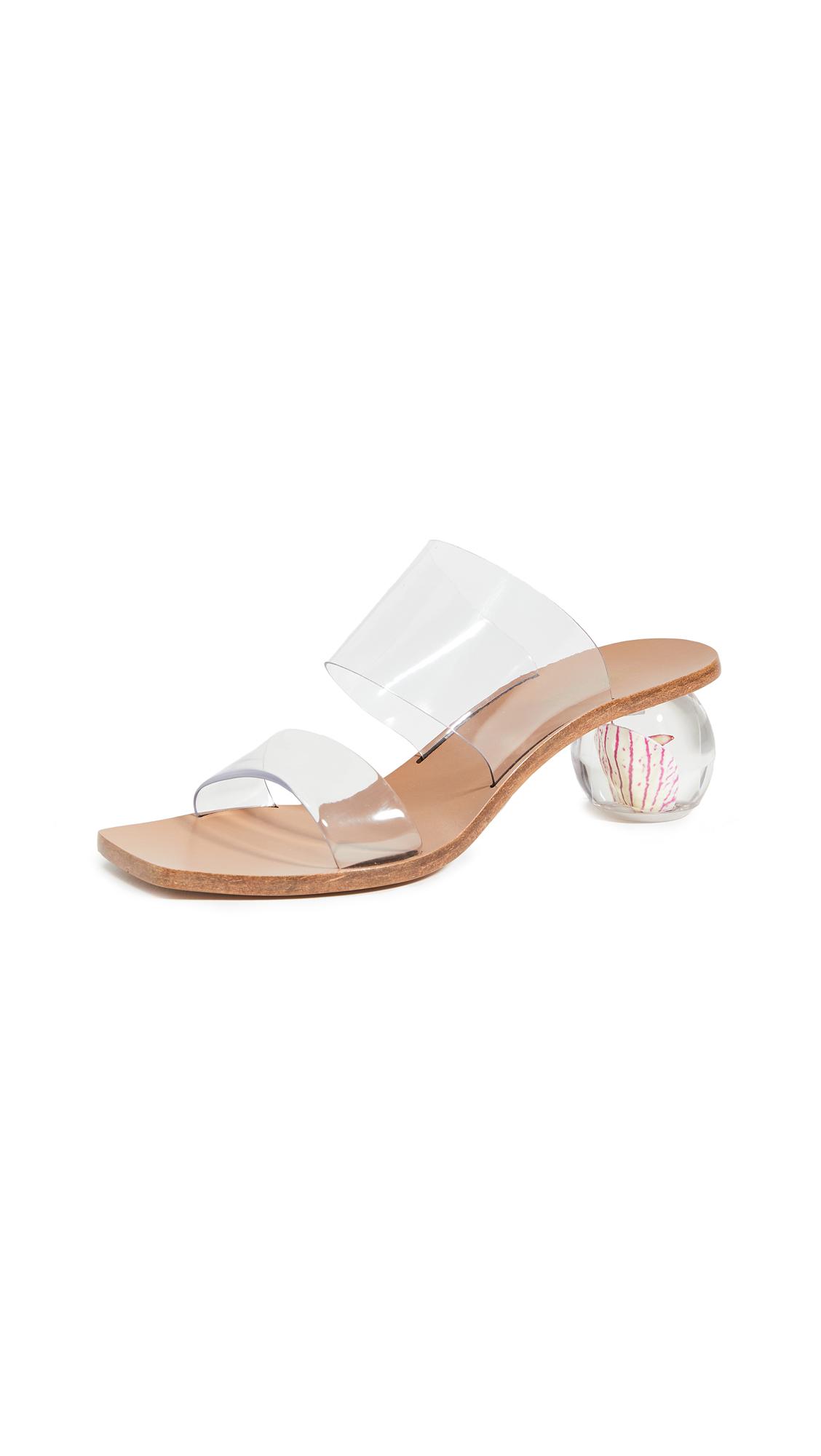 Buy Cult Gaia Jila Flower Heel Sandals online, shop Cult Gaia
