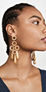 Cult Gaia Bibi Small Dangle Earrings