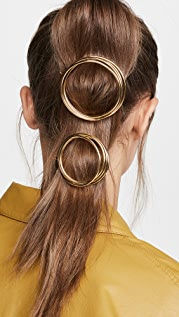 Cult Gaia Ines Coiled Barrette Set