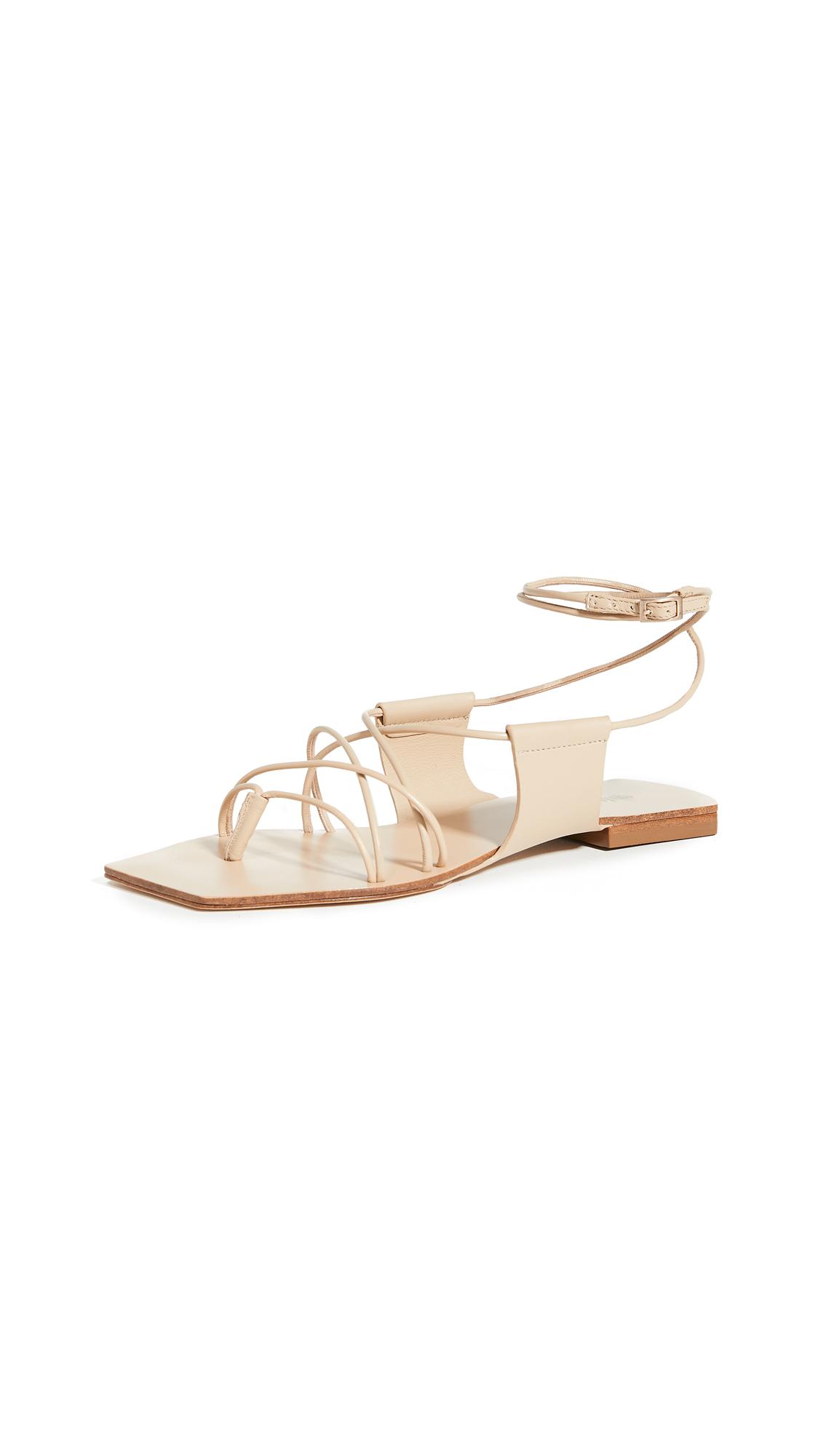 Buy Cult Gaia Maria Lace Up Sandals online, shop Cult Gaia