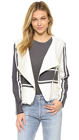 cupcakes and cashmere Osmond Stripe Jacket