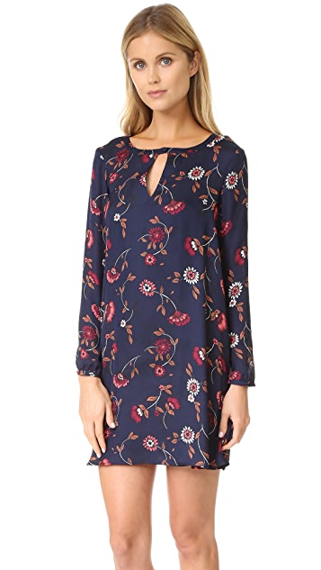 cupcakes and cashmere Hazel Printed Swing Dress