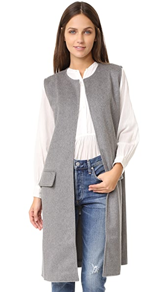 cupcakes and cashmere Shannon Long Vest